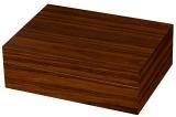 Shop Now Desktop Humidor Tiger Matte Rosewood - 25 Cigars Count | Cuenca Cigars  Sales Price:  $53.38