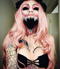 Halloween make up looks