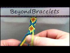 Lust am Knüpfen - 2. Das Anknüpfen - Anleitung für Anfänger - instruction for bracelets - YouTube