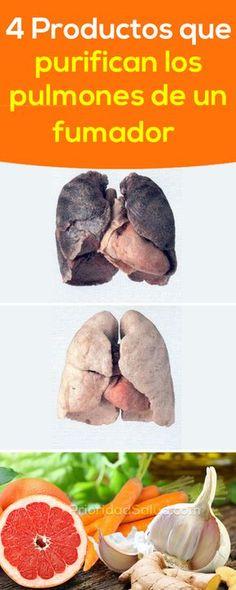 Asi es como limpiar los pulmones, restaurarlos de los daños causados por fumar.