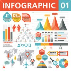 Infographic Elements 01 Royalty Free Stock Vector Art Illustration