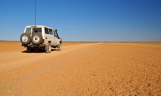 Travelling Outback near the South Australia / Northern Territory border, about 150 km / 90 miles from the Simpson Desert.