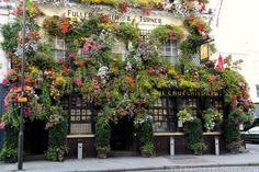 The Churchill Arms Pub: The One With All The Flowers In London