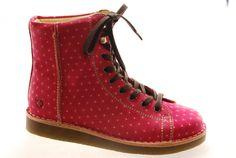 #Grünbein #Boots LOUIS III Punkt pink