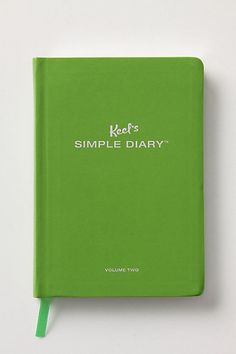 Keel's Simple Diary-Asks you questions(pick a word that describes your day, explain why, multiple choice, etc) for each date.