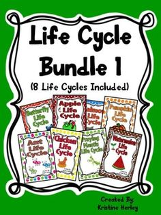 This life cycle bundle provides several learning and practice opportunities for students to learn about the life cycle of 8 different plants/animals.Life Cycles Included In This Bundle Are: apple, pumpkin, chicken, praying mantis, ant, butterfly, watermelon, and salmon.Each Life Cycle Includes:-informational reader: mini-book-flip-flap book-petal book- life cycle ordering worksheet (circular)- life cycle stages worksheet (linear)- life cycle cards to cut and sequence (a set of colored, a…