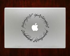 Lord Of The Rings elvish symbol Decal Sticker For Macbook Pro Air