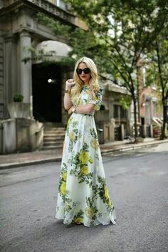 Perfect dress for Summer.