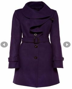 I have a purple coat... not this one.