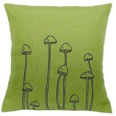 cutest mushroom pillow