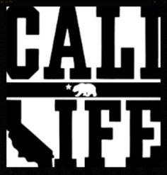 """Cali Life"" Logo.  I <3 this one."