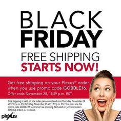 Follow me for more Plexus deals.... This one ends November 25th at midnight.... Promo code GOBBLE16  http://Shopmyplexus.com/Gillian/
