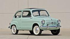 1960 Fiat 600 Sunroof Sedan 633 CC, 4-Speed presented as lot F123 at Monterey, CA 2014 - image12