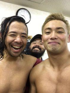 Shinsuke Nakamura, Kazuchika Okada & Gedo