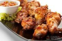 Coxa de frango no creme de cebola