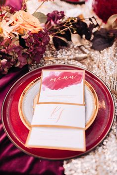 Wedding List, Wedding Menu, Wedding Themes, Fall Wedding, Rustic Wedding, Burgundy Wedding Theme, Floral Wedding, Wedding Table Decorations, Simple Weddings