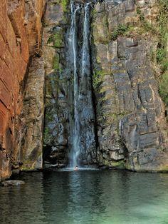 Cachoeira Véu da Noiva, Parque Nacional Serra do Cipó - MG