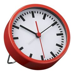 'travel clock' from crate & barrel