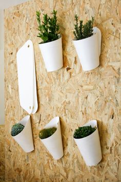 Clara del Portillo has created these beautiful flower and/or herb pot hangers that allow you to display all of your potted plants beautifully on your wall. I love how there is almost this green revolution bringing plants back into our homes in such urban lifestyles. Really looking forward to seeing more innovation like this!