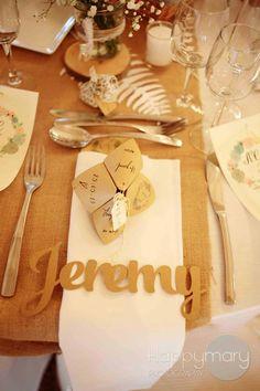 Notre mariage: la décoration de table - Happy Chantilly - Jolies cocottes
