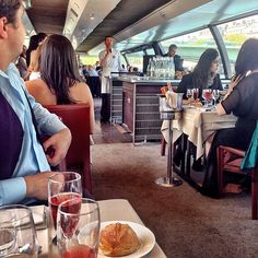 Tough Tuesday food cruisin' on the Seine. ⛵️ #seine #rickyrosé #imonaboar #lcbparis | OnInStagram
