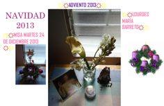 LAS FLORES. NACIMIENTO DEL NIÑO JESUS MISA MARTES 24 DE DICIEMBRE DEL 2013. CELEBRACIÓN  CUARTA SEMANA DE ADVIENTO. PARTE 2 IGLESIA SAN ANTONIO CIUDAD VALENCIA.ESTADO CARABOBO.PAÍS VENEZUELA