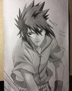drawing of Sasuke Uchiha, Naruto Naruto Vs Sasuke, Anime Naruto, Naruto Shippuden Anime, Shikamaru, Naruto Art, Itachi Uchiha, Sasuke Drawing, Naruto Drawings, Anime Drawings Sketches