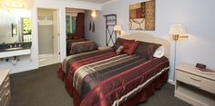The deluxe level of accommodations at Redwood Christian Park.  #redwoodchristianpark
