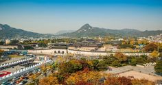 royal palace of korea 4k ultra hd wallpaper