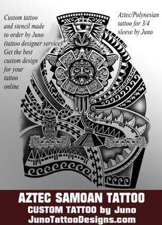 Aztec samoan tattoo, polynesian tattoo, dwayne johnson tattoo, arm tattoo, male tattoo, juno tattoo designs