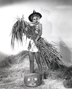 Eva Gabor witches you a Happy Halloween!