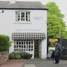 The cheese shop in Woolton Village