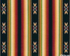 serape style fabric