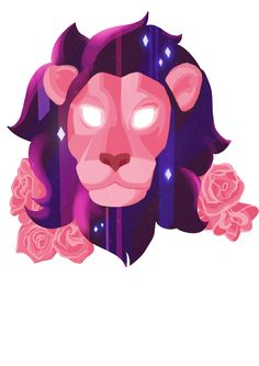 HOW MANY HOURS DID I SPEND ON THIS??? The idea came to me in a flash and refused to leave until I did it justice. Based on Lion from Steven Universe- Space lion tattoo design! Seriously thinking of getting it on my arm. y/n?