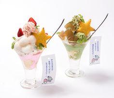 キキ&ララカフェ、阪急うめだに限定オープン - 七夕をイメージした和風パフェを提供の写真3