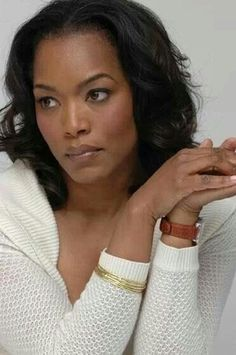 """Angela Bassett: very striking and beautiful actress. Really enjoyed her this year in """"Olympus has Fallen""""."""