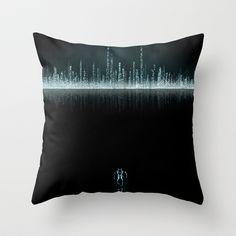 Tron+City+Throw+Pillow+by+THE+EDTHIRTEEN+-+$20.00
