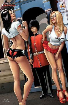 WONDERLAND #7 Cover C - Spay London Exclusive (500) #Wonderland #Zenescope