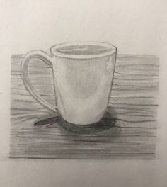 Drawing For Beginners coffee cup Doodle Art Drawing, Dark Art Drawings, Drawing Faces, Easy Drawings, Pencil Drawings, Pencil Art, Drawing Tips, Drawing Ideas, Coffee Cup Drawing