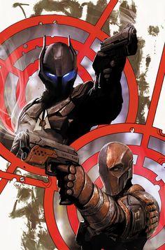 """""""The Arkham Knight & Deathstroke by Stjepan Sejic Comic - 'Batman: Arkham Knight - Genesis'"""