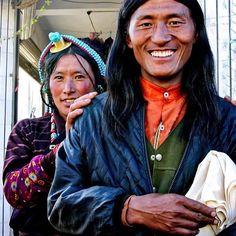 TibetanCouple Karze, Kham, TIBET