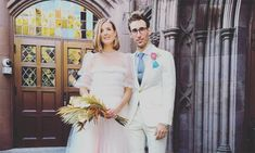 Model Agyness Deyn marries Joel McAndrew in beautiful ceremony