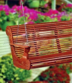 Classic Porch Swing Plans - Outdoor Furniture Plans