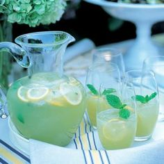 Honeydew and Mint Agua Fresca