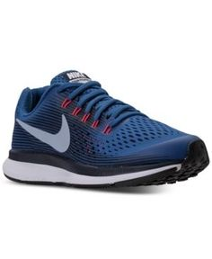 quite nice 4d048 a4f27 Nike Boys  Air Zoom Pegasus 34 Running Sneakers from Finish Line - Blue 4