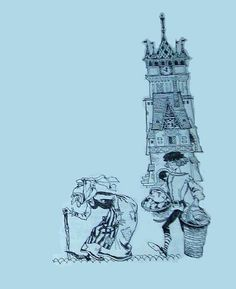 Livia Rusz - Basme - Wilhelm Hauff Sci Fi, Illustration, Art, Art Background, Science Fiction, Kunst, Illustrations, Performing Arts, Art Education Resources