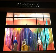Spring Window Display at the Joyce Location by courtneybickel
