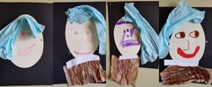 Recreating Girl with a Pearl Earring Art in Preschool #mgtblogger