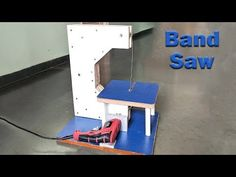 How to Make a Bandsaw at Home - YouTube