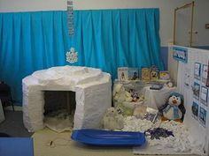 This site has a ton of ideas for your dramatic play centers omgosh i love these role play areas Dramatic Play Area, Dramatic Play Centers, Preschool Centers, Preschool Activities, Winter Fun, Winter Theme, Winter Child, Role Play Areas, Material Didático